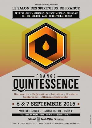 Affiche du salon France Quintessence 2015