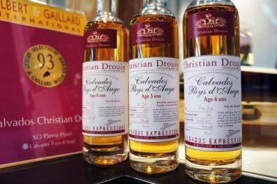 Christian Drouin calvados gamme Expressions