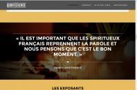 Capture d'écran du site France Quintessence